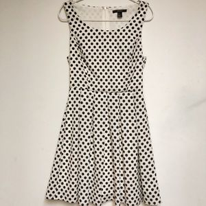 Forever 21 polka dot midi dress